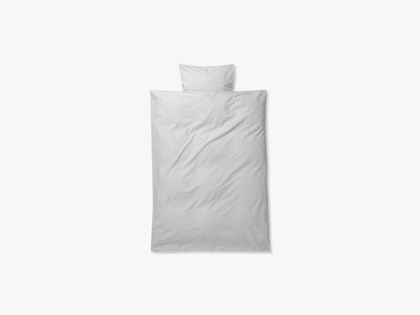 Hush Duvet Cover, Light Grey fra Ferm Living