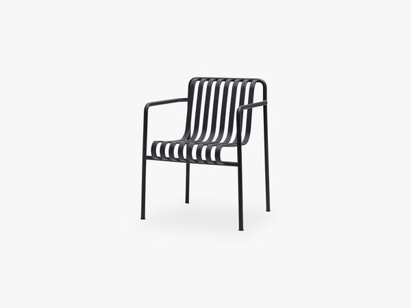 Palissade Dining Armchair, Anthracite fra HAY