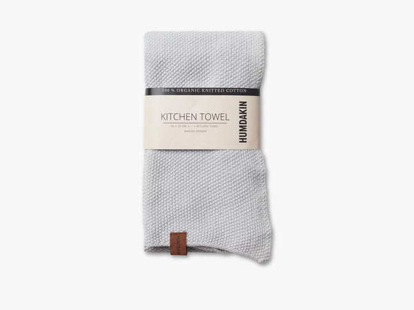 Knitted Kitchen Tea Towels, Purple Grey fra HUMDAKIN