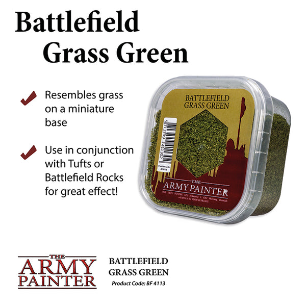 Army Painter Basing: Battlefield Grass Green