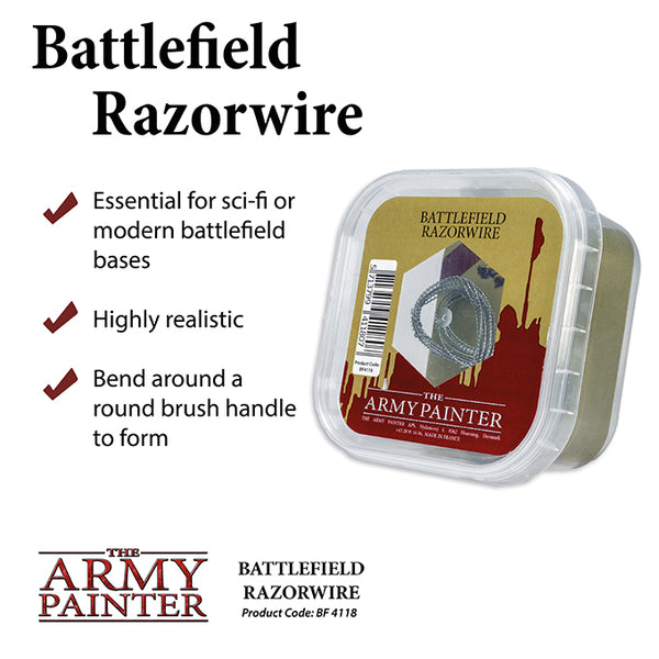 Army Painter Basing: Battlefield Razorwire