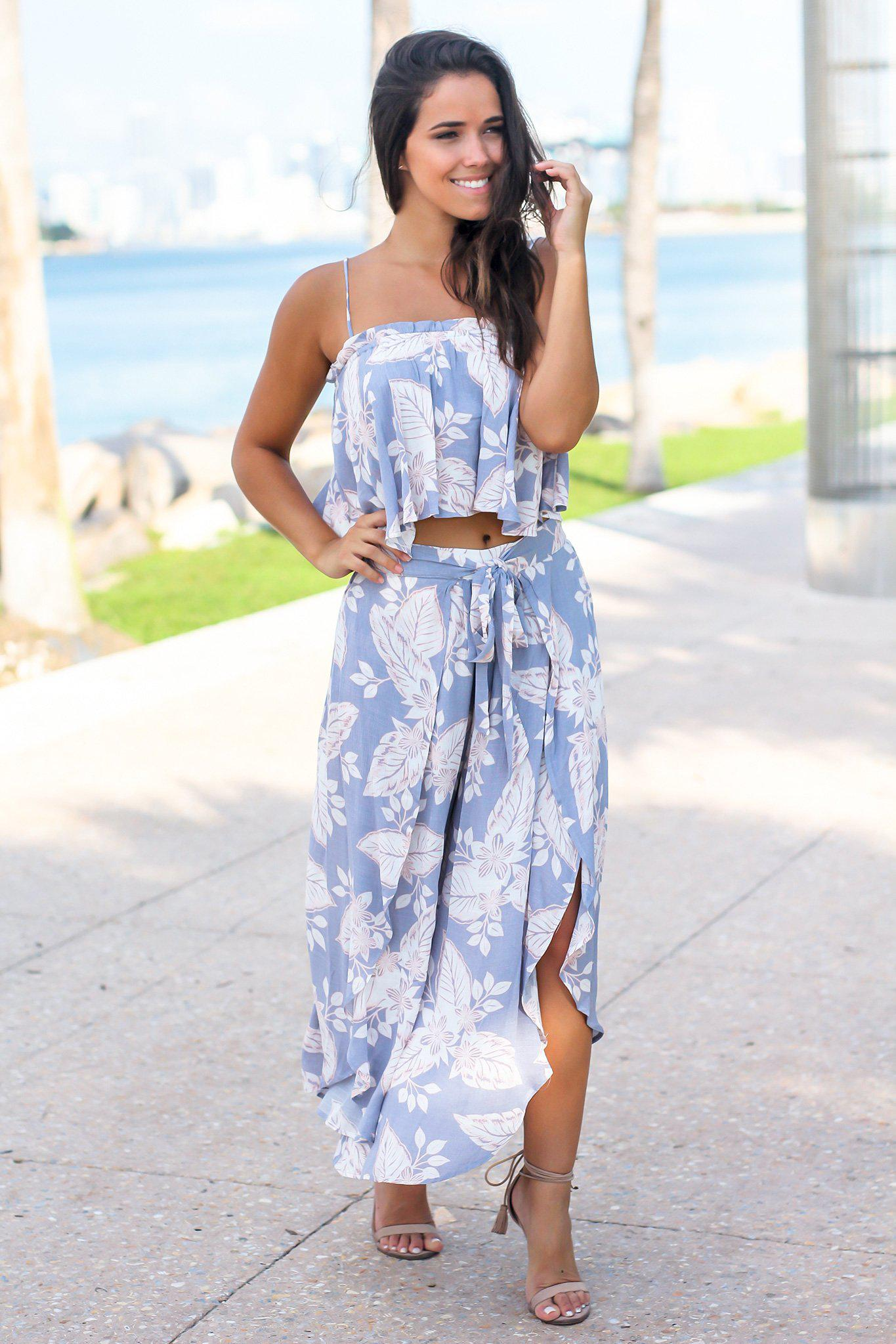 Floral Two Piece Sets