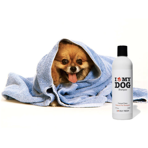 Natural Dog Shampoo Oatmeal & Neem - Lovely Fresh - 7