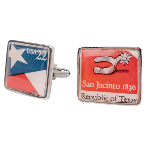 Vintage American Bar Association Stamp Cufflinks