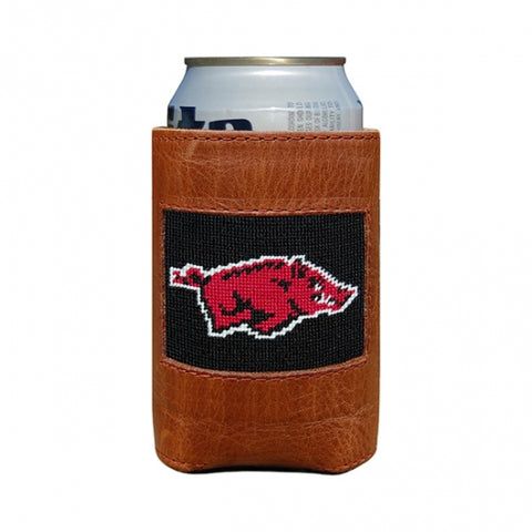UT Needlepoint Can Cooler