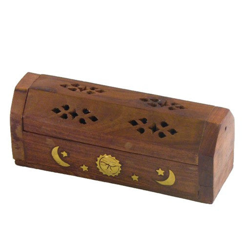 Burner: Wooden Coffin for Shortie Sticks