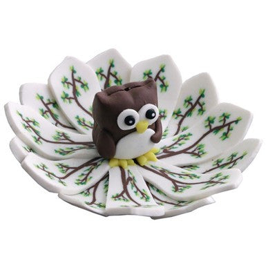 Burner: Owl Shortie Incense Burner