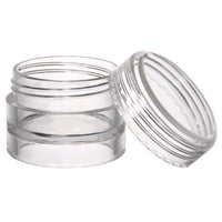 Jar Clear Mini Plastic .15 oz. (12 Pack)