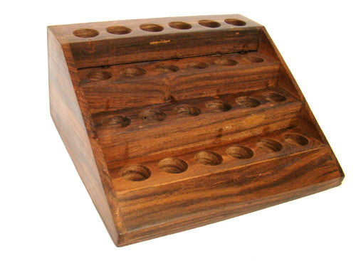 Wooden Display for Essential Oils
