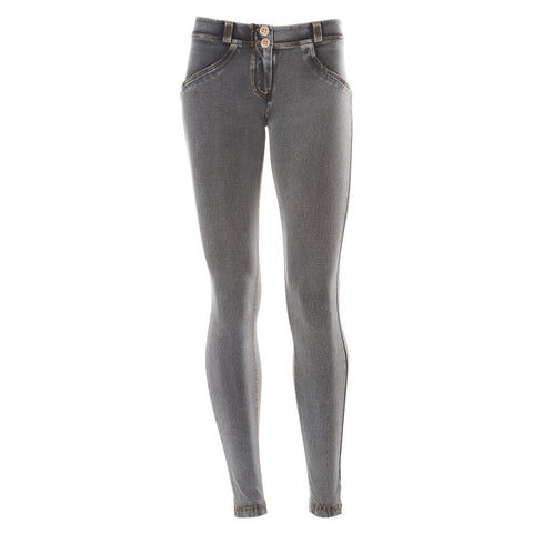WR.UP® SKINNY - SHAPING DENIM EFFECT - J3Y - GRAY - MID WAIST