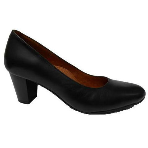 Aerobics - Hostess - Nappa Black - 5.5cm Heel - Sole Sister Shoes