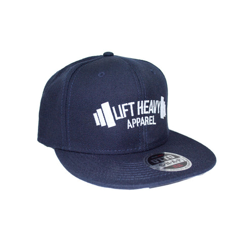 Navy Snapback lift heavy apparel