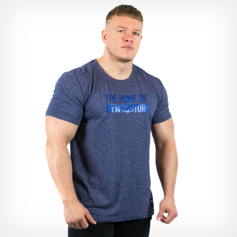 Men's Platinum Gym Couture T-Shirt Lift Heavy Apparel