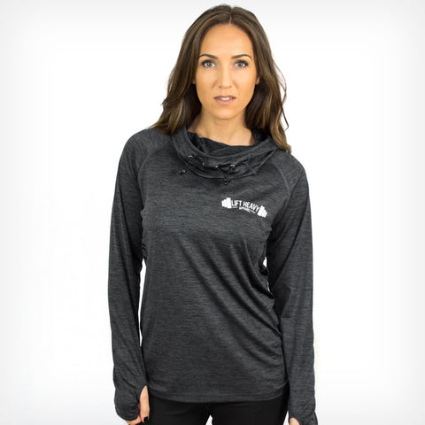 Women's Dyno Cowl Neck Hoodie