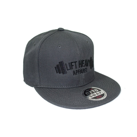 Charcoal Snapback Lift Heavy Apparel