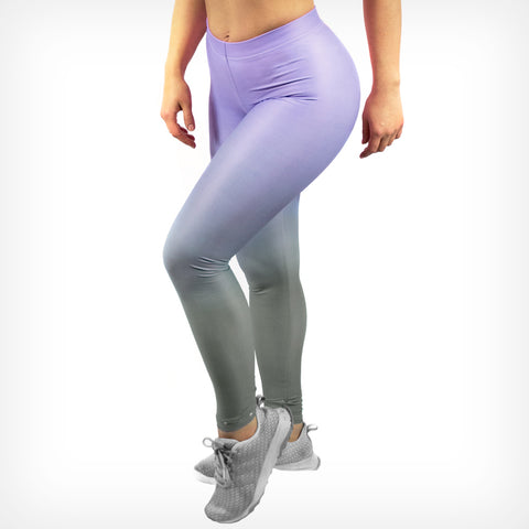 Fade women's Leggings violet Lift Heavy Apparel