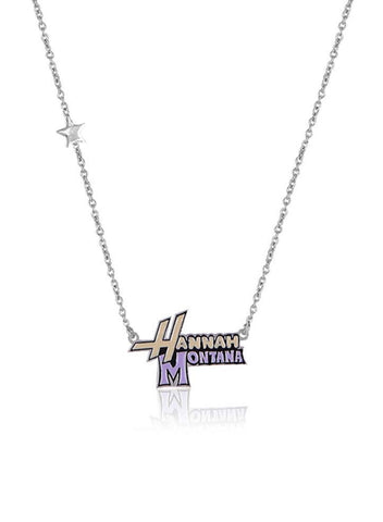 Hannah Montana Disney Necklace - Sterling Silver - LeCalla