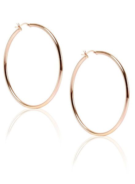 Radiance Hoop Earring - Sterling Silver - LeCalla
