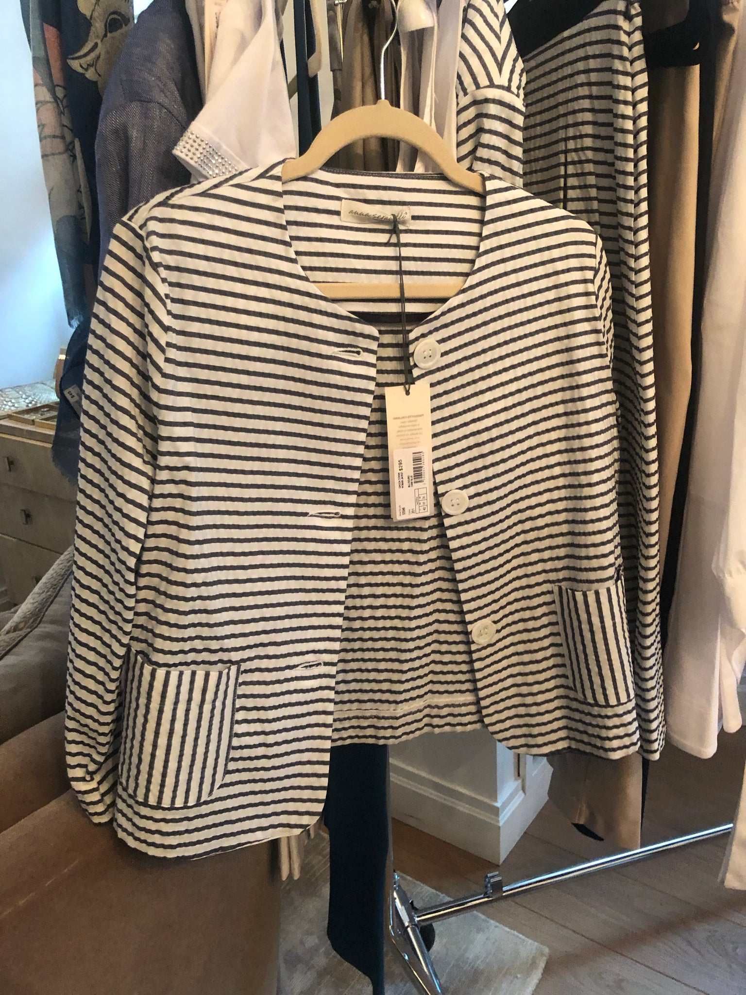 AS-596 Striped Jacket