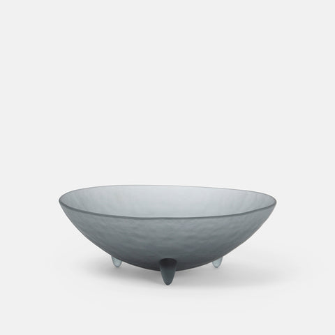 "10"" Grey spike bowl"