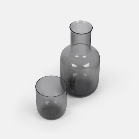 Grey Carafe with Cup