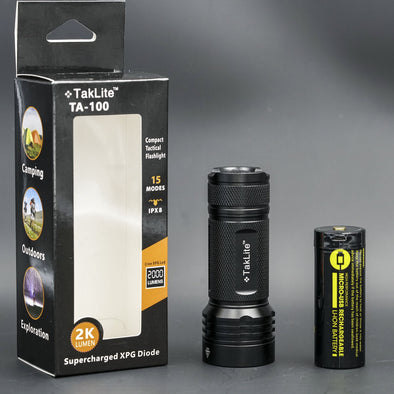 TA-100 LED Flashlight