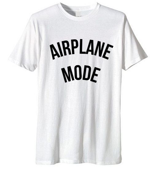Airplane Mode Unisex Tee