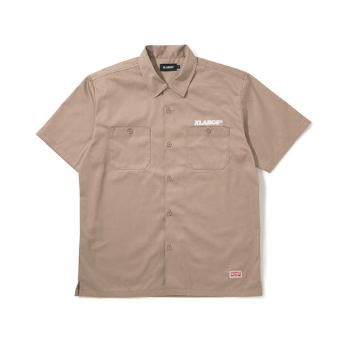 S/S OG WORK SHIRT 01191403 - KHAKI