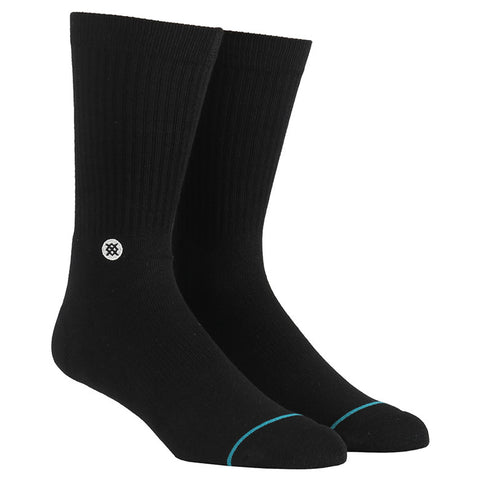 Stance Icon Solid Athletic Crew Sock Black