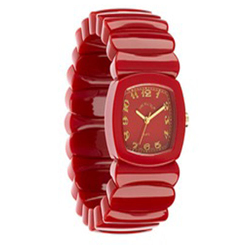 Time Will Tell Ladies Monotone Red