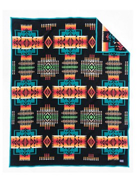 Chief Joseph Blanket  Black