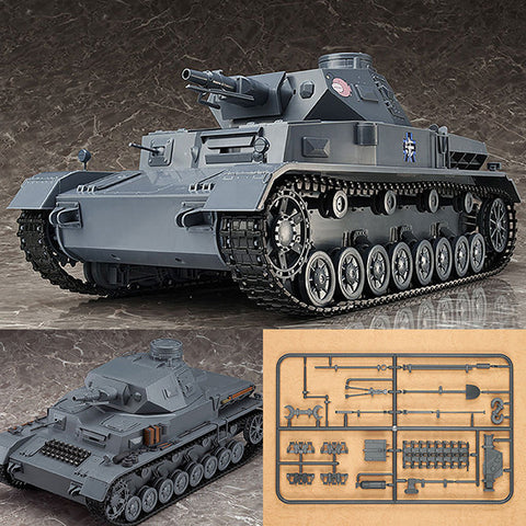 "Figma Vehicles 1/12 Panzer IV Tank Ausf. D ""Finals"" + Tank Equipment Set from Girls und Panzer Max Factory [IN STOCK]"