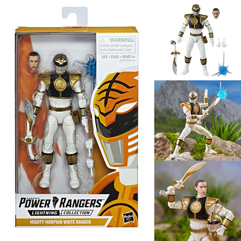 Power Rangers Lightning Collection Mighty Morphin White Ranger [IN STOCK]