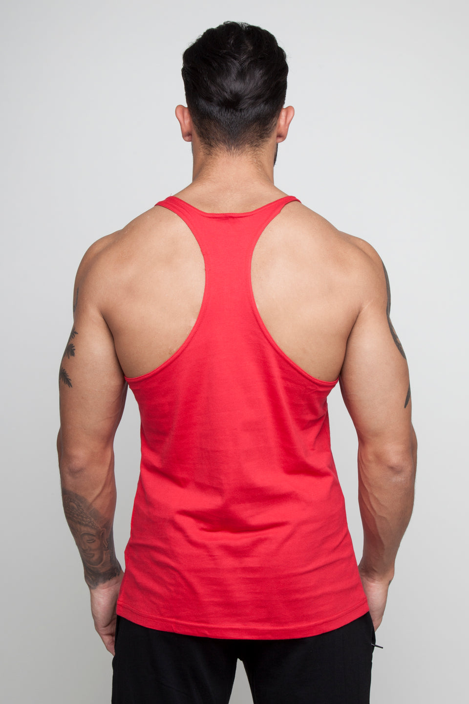 Vypex® Branded Emblem Stringer Vest - Infernal Red