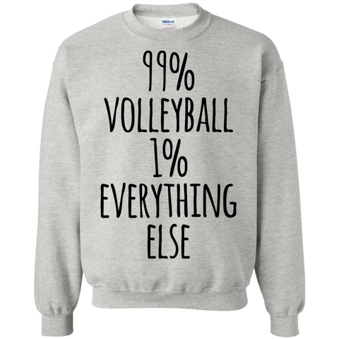 99%  Volleyball 1% Everything else  Sweatshirt