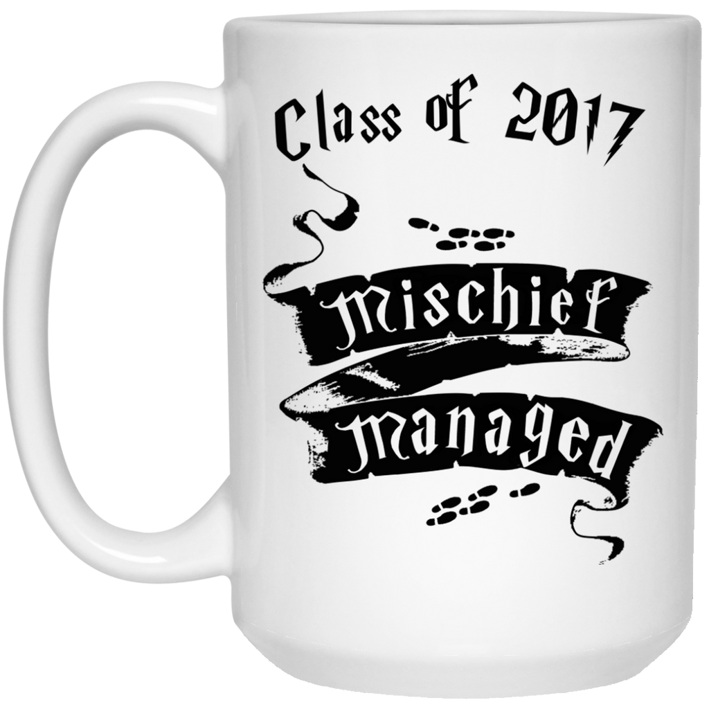 Mischief managed class of 2017 Mug - 15oz