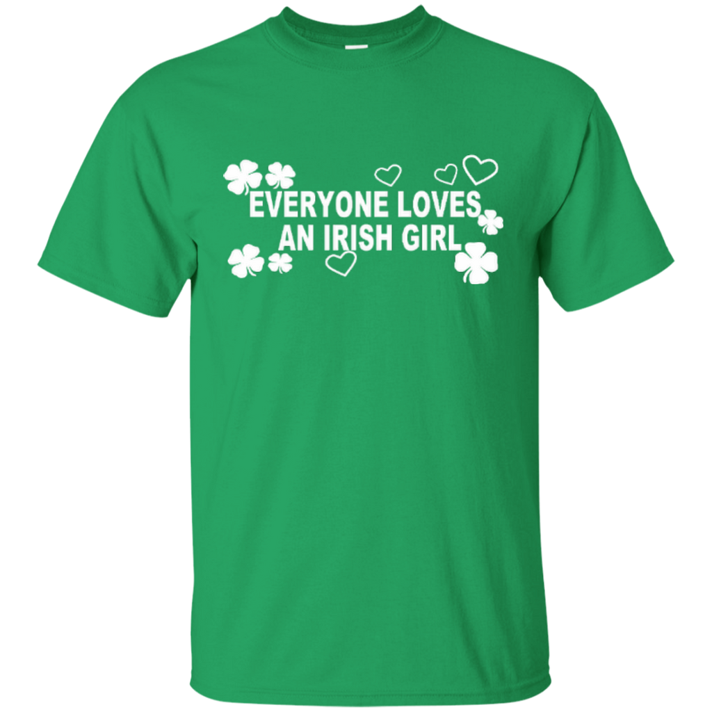Everyone Loves An Irish Girl Cotton T-Shirt