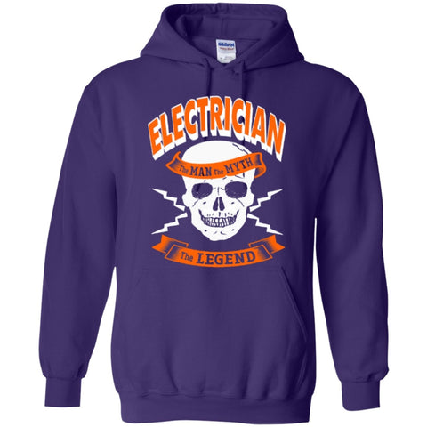Hoodies - Electrician The Man The Myth The Legend  Hoodie