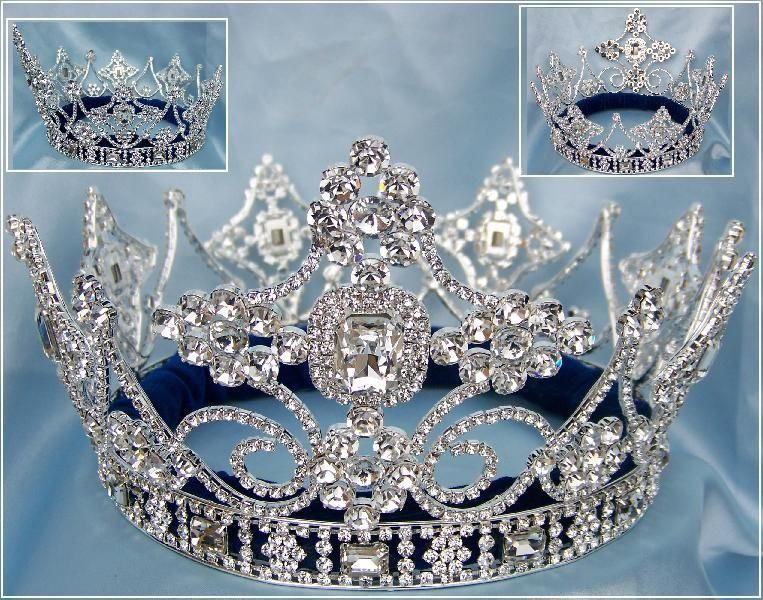 Empire Regal Crown Silver UNISEX FULL Men's Crown - CrownDesigners