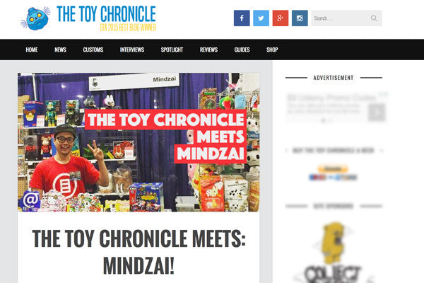 The Toy Chronicle interviews Mindzai