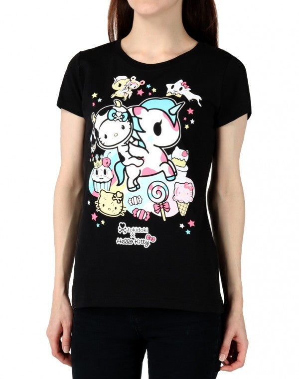 Tokidoki x Hello Kitty Milk and Sugar T-shirt