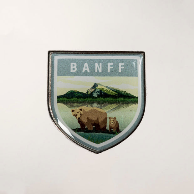 Banff National Park Lapel Pin