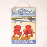 Castor and Pollux Red Chair Sign