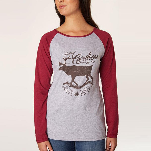 Women's Caribou Baseball Shirt