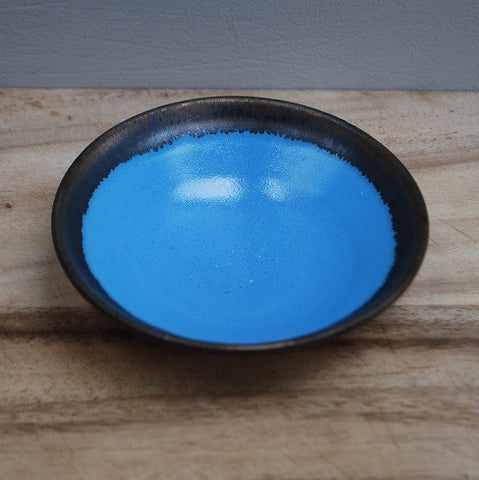 Porcelain mini dish - Royal blue
