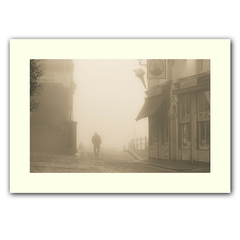 'Old town mist' print