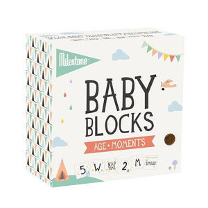 How I Wonder - Milestone - Baby Blocks