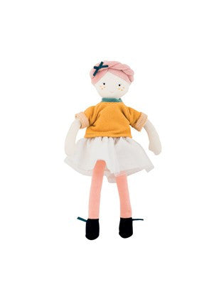 Moulin Roty - Les Parisiennes - Mademoiselle Eloise - Soft Toy - How I Wonder.co.uk - 1