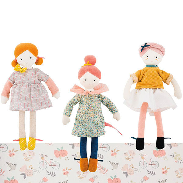Moulin Roty - Les Parisiennes - Mademoiselle Eloise - Soft Toy - How I Wonder.co.uk - 2