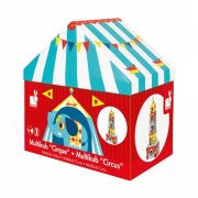 Janod Toys - Circus Themed - Cubed Stacking Toy - How I Wonder.co.uk - 4